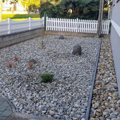 Kiesbeet im Vorgarten